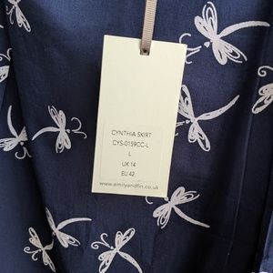 Emily and Fin Skirts - Emily and Fin Dragonfly Skirt NWT